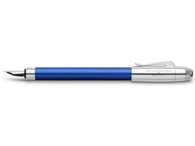 Graf von Faber-Castell For Bentley Fountain Pen, Sequin Blue