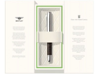 Graf von Faber-Castell For Bentley Ballpoint, White Satin