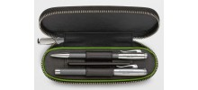 Graf von Faber-Castell For Bentley Leather Case for 2 Pens