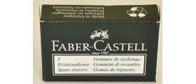 Faber-Castell Pencil Erasers, per box of 5