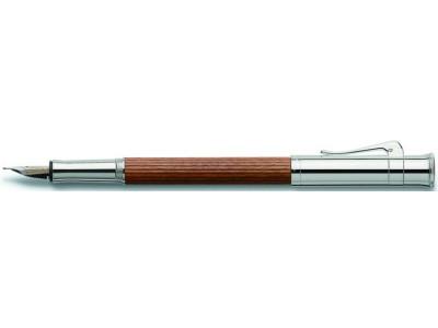 Graf von Faber-Castell Classic Fountain Pen, Pernambuco Wood, Platinum Plated