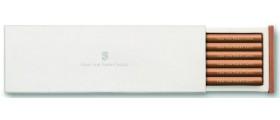 Graf von Faber-Castell Perfect Pencil, Guilloche Refills, Per Box of 6, Brown