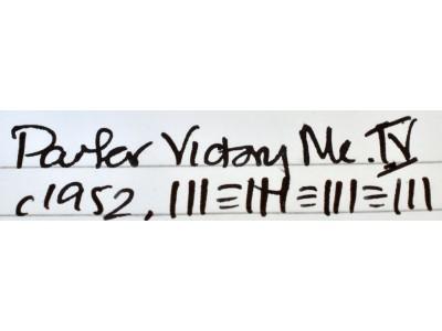 PA3084 Parker Victory Mk. IV. (Soft Broad)