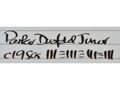 PA3085 Parker Duofold Junior (Semi-Flexible Medium Italic)
