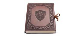 Fleur De Lys Italian Leather Journal