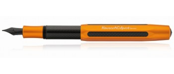 Kaweco AC-Sport Carbon Fibre Fountain Pen, Orange