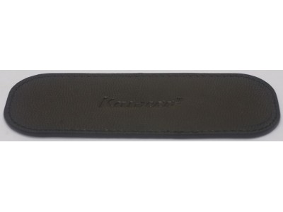 Kaweco Sport ECO Black Leather Pen Pouch for 2 Pens