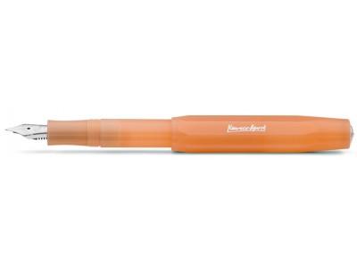 Kaweco Frosted Sport Fountain Pen, Soft Mandarine