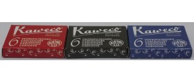 Kaweco Ink Cartridges, per pack of 6