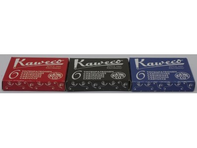 Kaweco Ink Cartridges, per pack of 6