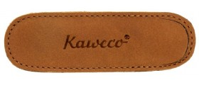 Kaweco Liliput Cognac leather Pen Holder For 2 Pens