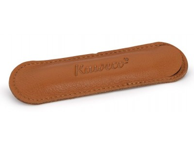 Kaweco Sport Brandy Leather Pen Pouch for 1 Pen