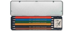 Koh-I-Noor 5217 2.0mm Set of 6 Clutch Pencils with Self-Coloured Leads