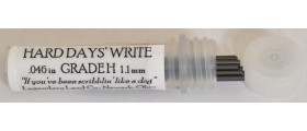 """Legendary Lead Company 1.18mm Leads, """"Hard Day's Write"""", H, per pack of 12"""