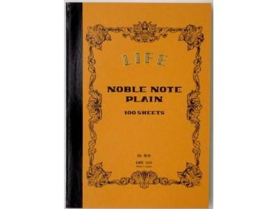 Life Noble Notebook, B6 Size, Plain