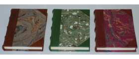 Lo Scrittoio Hard Back 12cmx16cm Half Leather Journal