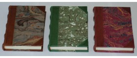 Lo Scrittoio Hard Back 9cmx13cm Half Leather Journal
