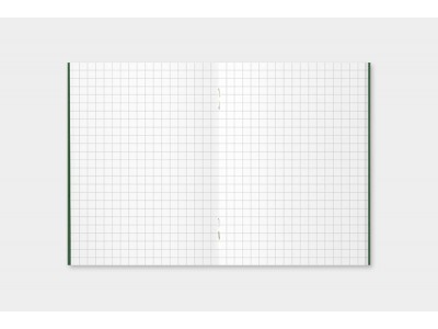 Traveler's Company (Midori) Notebook Refill, Passport Size, 002 Grid Notebook