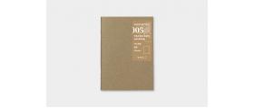 Traveler's Company (Midori) Notebook Refill, Passport Size, 005 Blank Notebook (MD Paper)