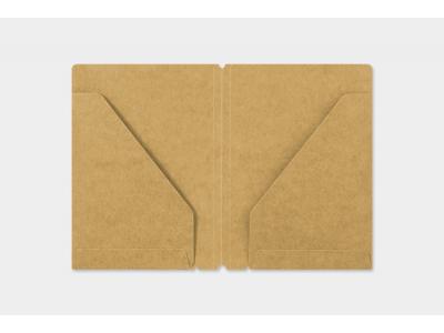 Traveler's Company (Midori) Notebook Refill, Passport Size, 010 Kraft paper Folder