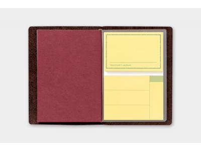 Traveler's Company (Midori) Notebook Refill, Passport Size, 012 Sticky Notes
