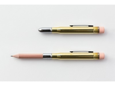 Traveler's Company (Midori) Brass Pencil, Brass