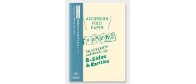 Traveler's Company (Midori) B-Sides & Rarities Notebook Refill, Passport Size, Accordian Fold Paper