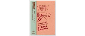 Traveler's Company (Midori) B-Sides & Rarities Notebook Refill, Passport Size, Sticker Release Paper
