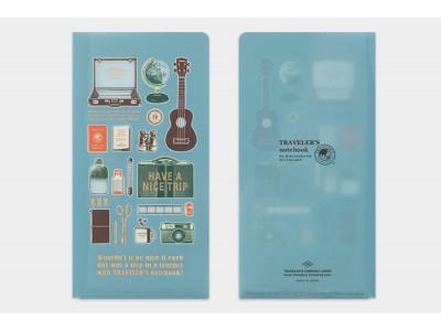 Traveler's Company (Midori) Notebook Refill, Standard Size, Clear Folder 2020