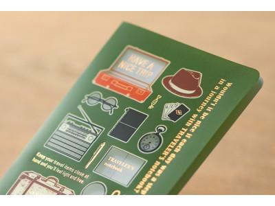Traveler's Company (Midori) Notebook Refill, Passport Size, Clear Folder 2020