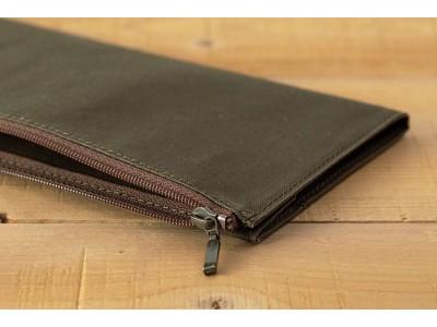 Traveler's Company (Midori) B-Sides & Rarities Notebook Refill, Standard Size, Cotton Zipper Case, Olive
