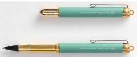 Traveler's Company (Midori) Brass Rollerball, Factory Green Limited Edition