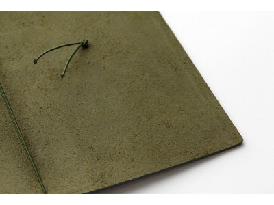 Traveler's Company (Midori) Notebook, Standard Size, Olive Limited Edition