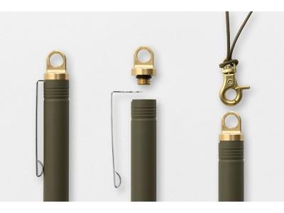 Traveler's Company (Midori) Brass Ballpoint, Olive Limited Edition