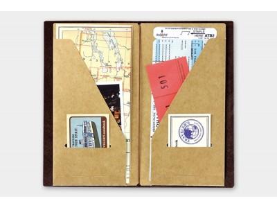 Traveler's Company (Midori) Notebook Refill, Standard Size, 020 Kraft Paper Folder
