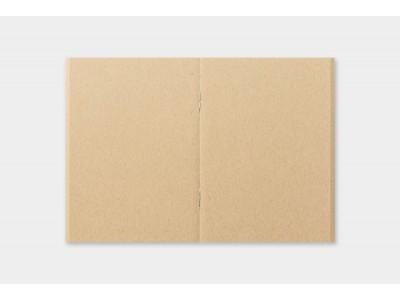 Traveler's Company (Midori) Notebook Refill, Passport Size, 009 Kraft Paper Notebook