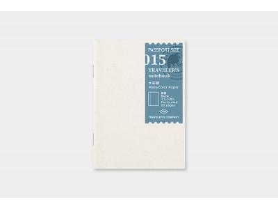 Traveler's Company (Midori) Notebook Refill, Passport Size, 015, Watercolour Paper
