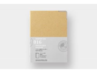Traveler's Company (Midori) Notebook Refill, Passport Size, 016, Refill binder