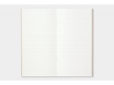 Traveler's Company (Midori) Notebook Refill, Standard Size, 001 Lined Notebook