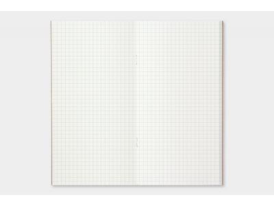 Traveler's Company (Midori) Notebook Refill, Standard Size, 002 Grid Notebook