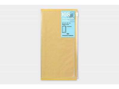 Traveler's Company (Midori) Notebook Refill, Standard Size, 008 Zipper Pocket