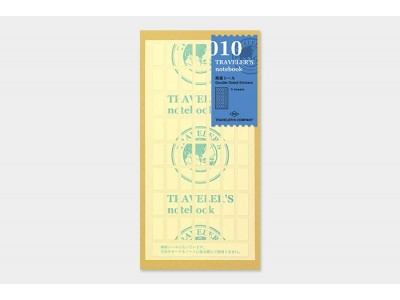 Traveler's Company (Midori) Notebook Refill, Standard Size, 010 Double Sided Stickers