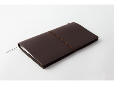 Traveler's Company (Midori) Notebook, Standard Size, Brown