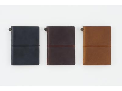 Traveler's Company (Midori) Notebook, Passport Size, Black