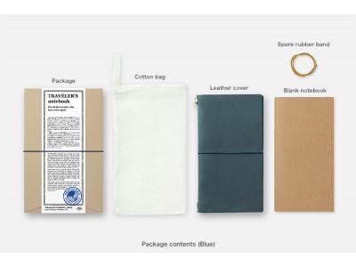 Traveler's Company (Midori) Notebook, Standard Size, Blue