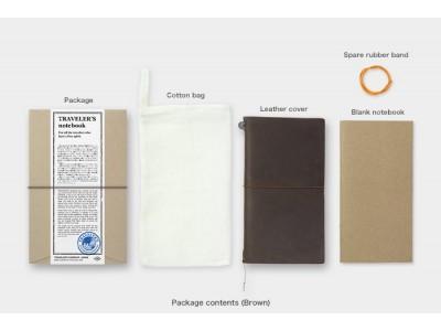 Traveler's Company (Midori) Notebook, Standard Size, Brown