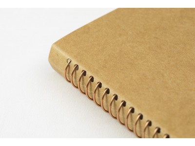 Traveler's Company (Midori) Spiral Ring Notebook, A5, DW Kraft Paper