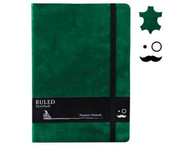 Monsieur Leather Notebook, A6 Size, Plain