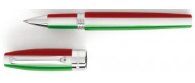 Montegrappa Fortuna Rollerball, Tricolore with Palladium Plated Trim
