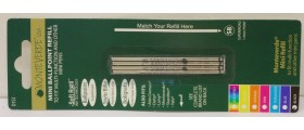 Monteverde D-1 Ballpoint Refill for Small Pens and Multipens, Superbroad, per pack of 4